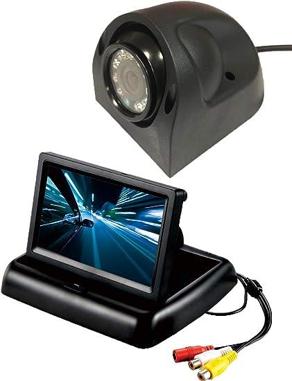 "RV Trailer Truck Side View Camera 1//3/"" CCD Image Sensor Waterproof Night Vision"