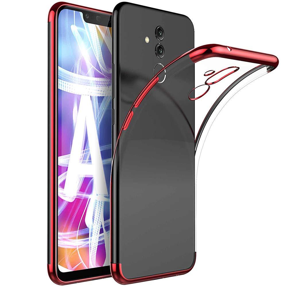 sunnymi pour Huawei Mate 20 Lite/Pro Coque Fin de Clear Ultra Doux en Gel de Silicone té lé phone Coque 16 cm/16, 2 cm 2cm
