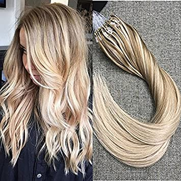 Amazon full shine 22 inch micro ring ombre hair extensions full shine 22 inch micro ring ombre hair extensions real hair remy loop micro bead hair pmusecretfo Images