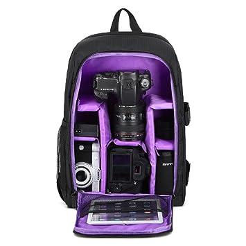 AOLVO - Mochila para cámara réflex Digital, Gran Capacidad ...
