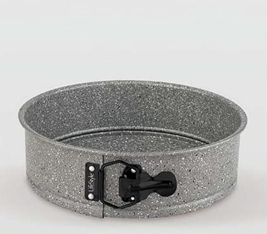 Life Style - Molde de Horno Desmontable - Acero al Carbono - Revestimiento Antiadherente - Granite - Ø 24 cm