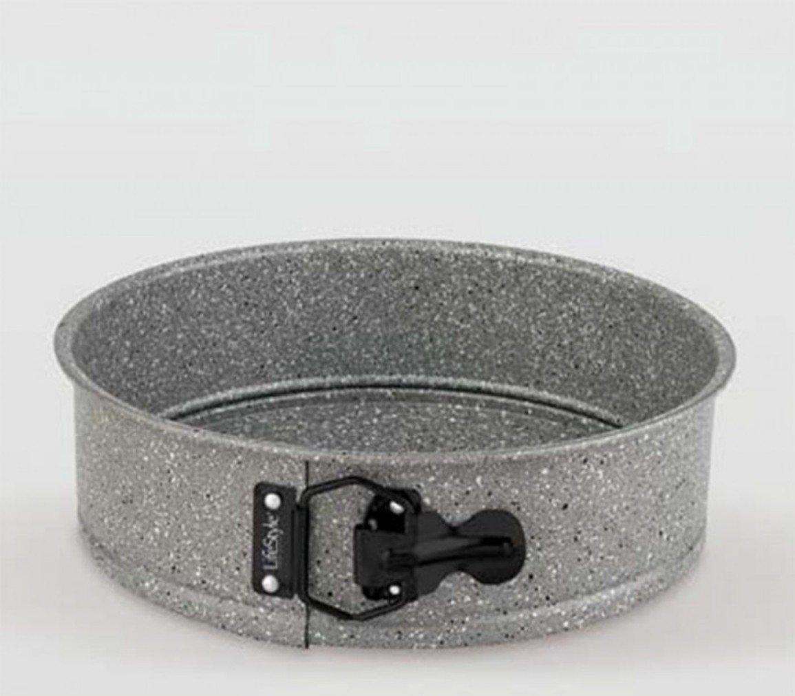 Life Style - Molde de Horno Desmontable - Acero al Carbono - Revestimiento Antiadherente - Granite
