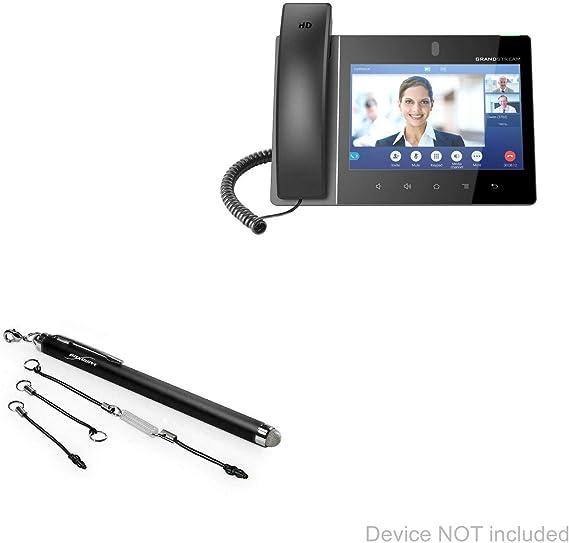 BoxWave EverTouch Capacitive Stylus Gigaset GS370 Stylus Pen Jet Black Fiber Tip Capacitive Stylus Pen for Gigaset GS370