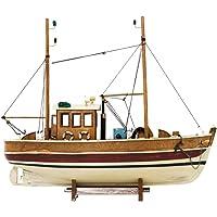 aubaho Barco rastreador del Barco de Pesca Barco