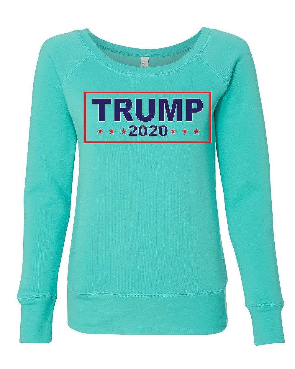 Donald Trump 2020 Womens Sweatshirt Conservative President MAGA Election