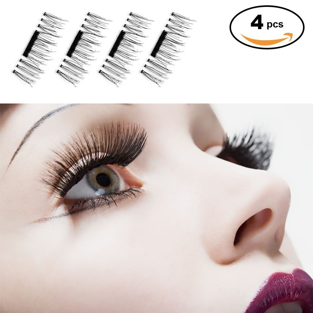 71d64e1c55a Magnetic Eyelashes Premium Quality False Eyelashes Set for Natural Look - Best  Fake Lashes Extensions No Glue Needed Cosmetics 3D Reusable: Amazon.ca: ...