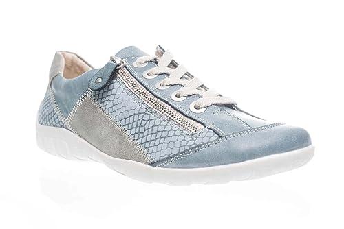 Remonte - zapatillas de baloncesto Mujer , azul (azul), 44: Amazon.es: Zapatos y complementos