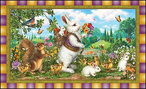 Toland Home Garden Classic Bunny 18 x 30 Inch Decorative Rab