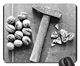 Mouse Pad - Nutcracker Hammer Nutshell Diet Health Macro