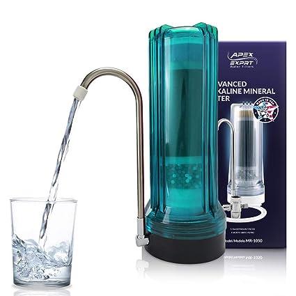 Apex encimera filtro de agua potable – alcalinas