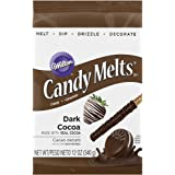 Wilton Dark Candy Cocoa Melts, 12-Ounce