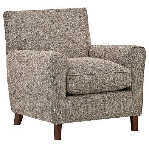 Rivet Lawson Modern Angled Chair, 33″W, Blackwood Review