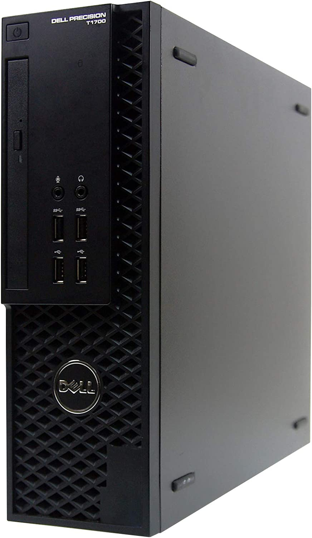 Dell Precision T1700-SFF, Intel Core i7-4770 3.4 GHz, 16GB RAM, 1TB Solid State Drive, DVDRW, Windows 10 Pro 64bit, (Renewed)