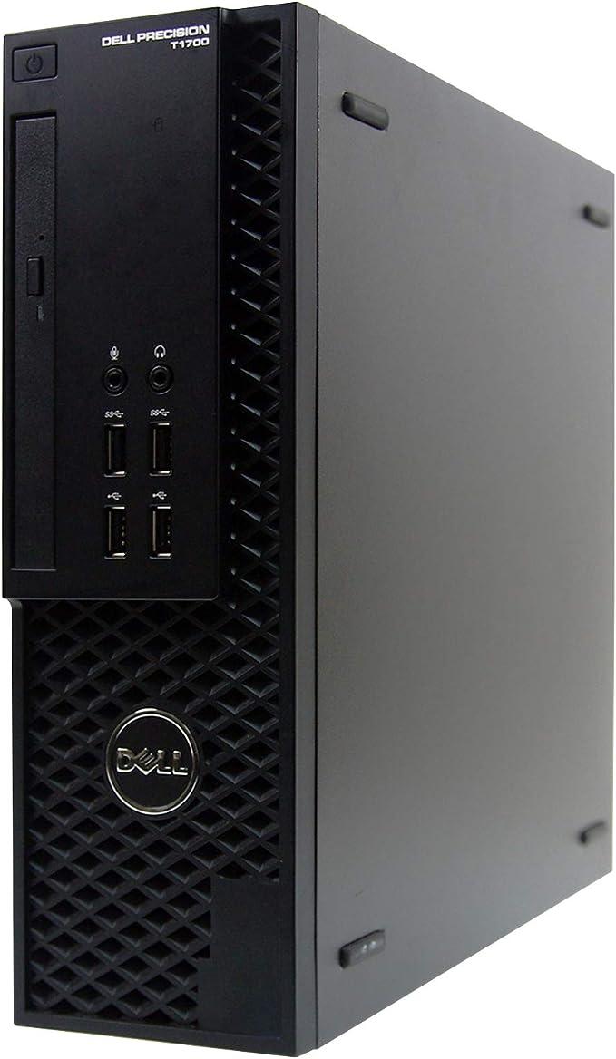 Dell Precision T1700-SFF, Core i5-4590 3.3GHz, 8GB RAM, 500GB Hard Drive, DVDRW, Windows 10 Pro 64Bit (Renewed)   Amazon