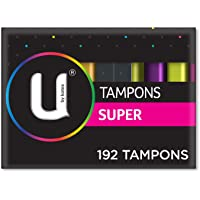 U By Kotex Tampons Super (Pack of 192)