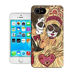 Unique Phone Case Skeleton skull head arts map Lauren & Johnny Hard Cover for 5.5 inches iphone 6 plus cases-buythecase