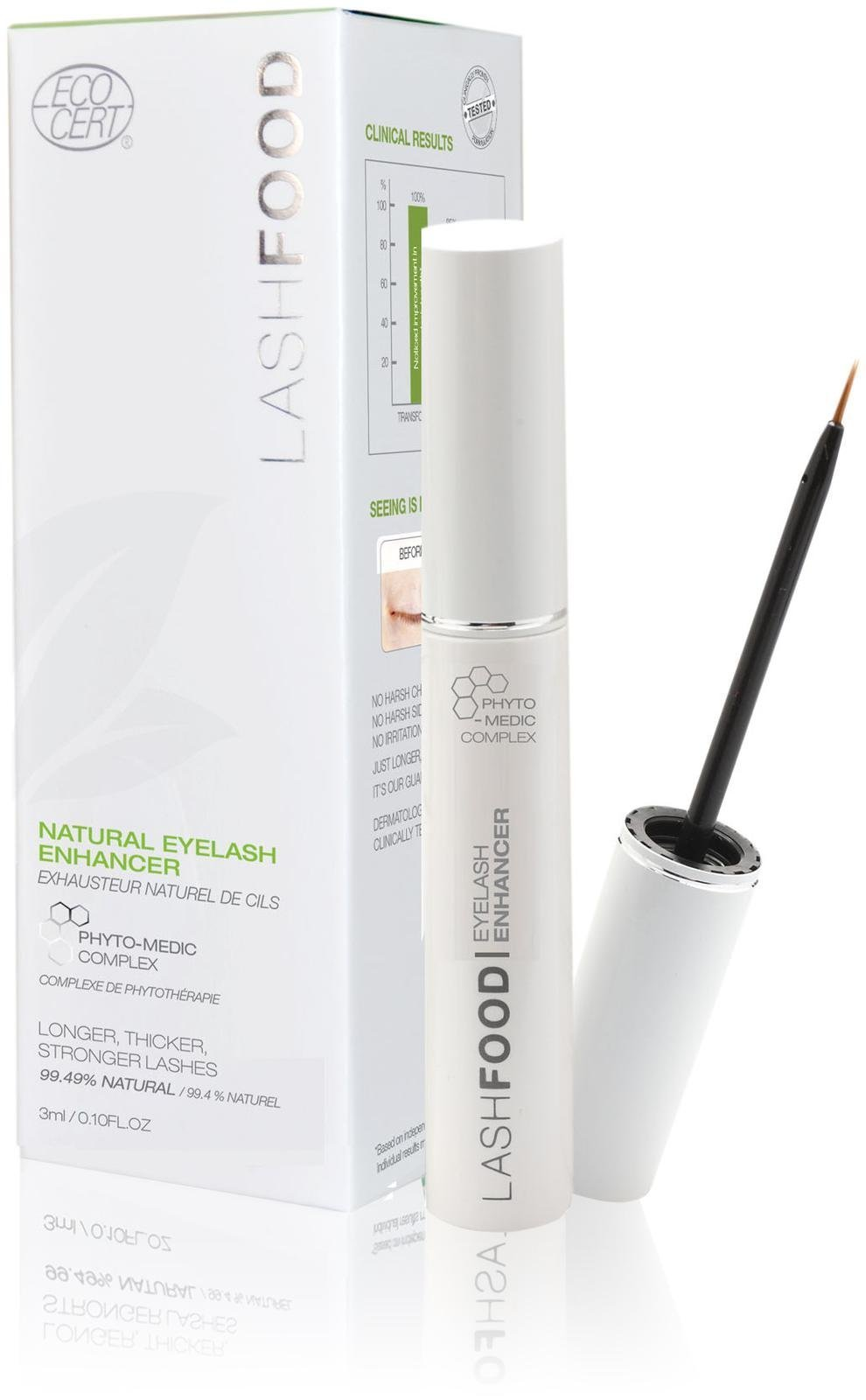 LashFood 1 Count Phytol-Medic Natural Eyelash Enhancer