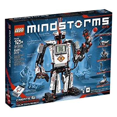 LEGO MINDSTORMS EV3 31313 Robot Kit with Remote Control for Kids, Educational STEM Toy for Programming and Learning How to Code (601 pieces) | Toy Boxes