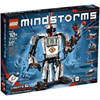 LEGO Mindstorms EV3 Toy Robot Kit with Remote Control (601 pieces)