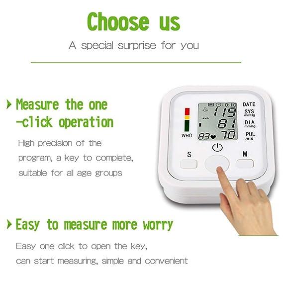 aidmonr Home portátil brazo Tipo Tensiómetro, inteligente automática voz electrónica Tensiómetro para monitoreo de la Salud: Amazon.es: Bricolaje y ...