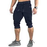 EKLENTSON 3/4 Pantalones Deportivos para Hombre Casuales Transpirables Ciclismo Training Fitness Ejercicio Deportivos…