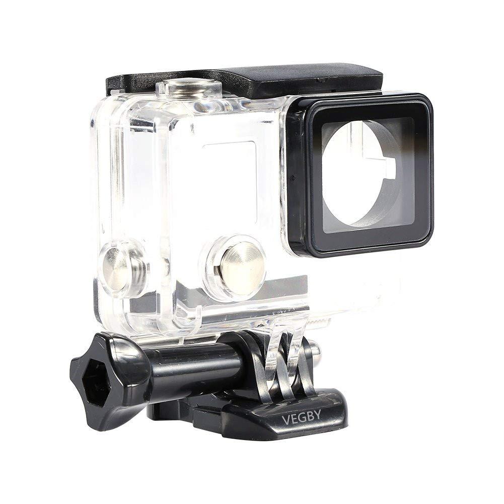 Boîtier de Protection de Caméra Sport Coque Case Protecteur Imperméable Coquille Couvercle d'Ouverture à Côté pour GoPro Hero 4/3 +
