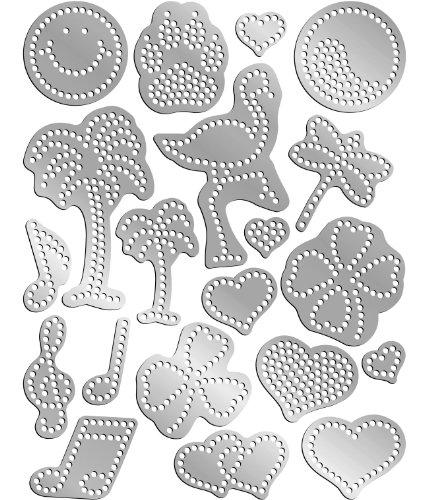Rhinestone Genie Embellishment Template, Variety (Rhinestone Patterns)