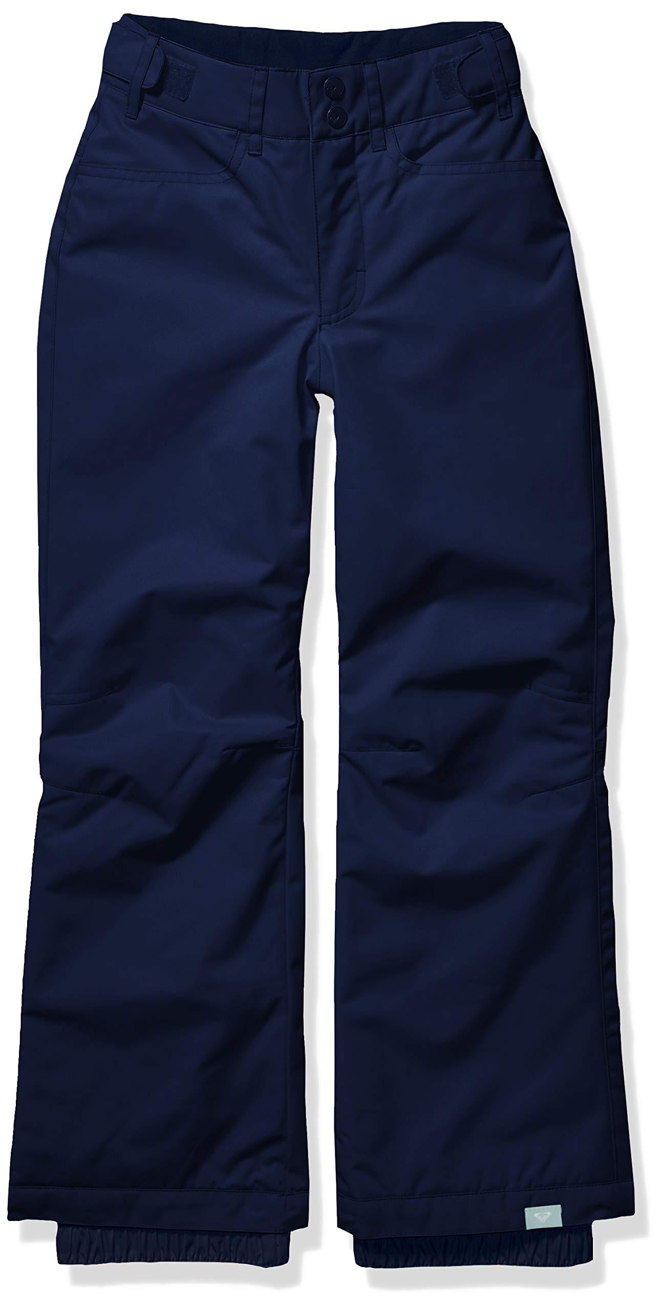 Roxy Snow Big Backyard Girl Pant, Medieval Blue, 12/L by Roxy