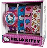 Hello Kitty Interchangeable Girl's Digital Watch HK3004
