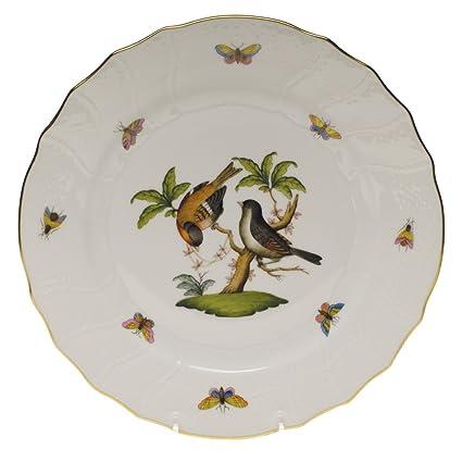 Herend Rothschild Bird Dinner Plate Motif #12  sc 1 st  Amazon.com & Amazon.com | Herend Rothschild Bird Dinner Plate Motif #12: Dinner ...