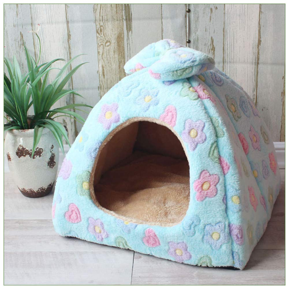 C4 43x43x36 cm CZHCFF Folding dog cat house dog puppy store kennel nest puppy pet bed