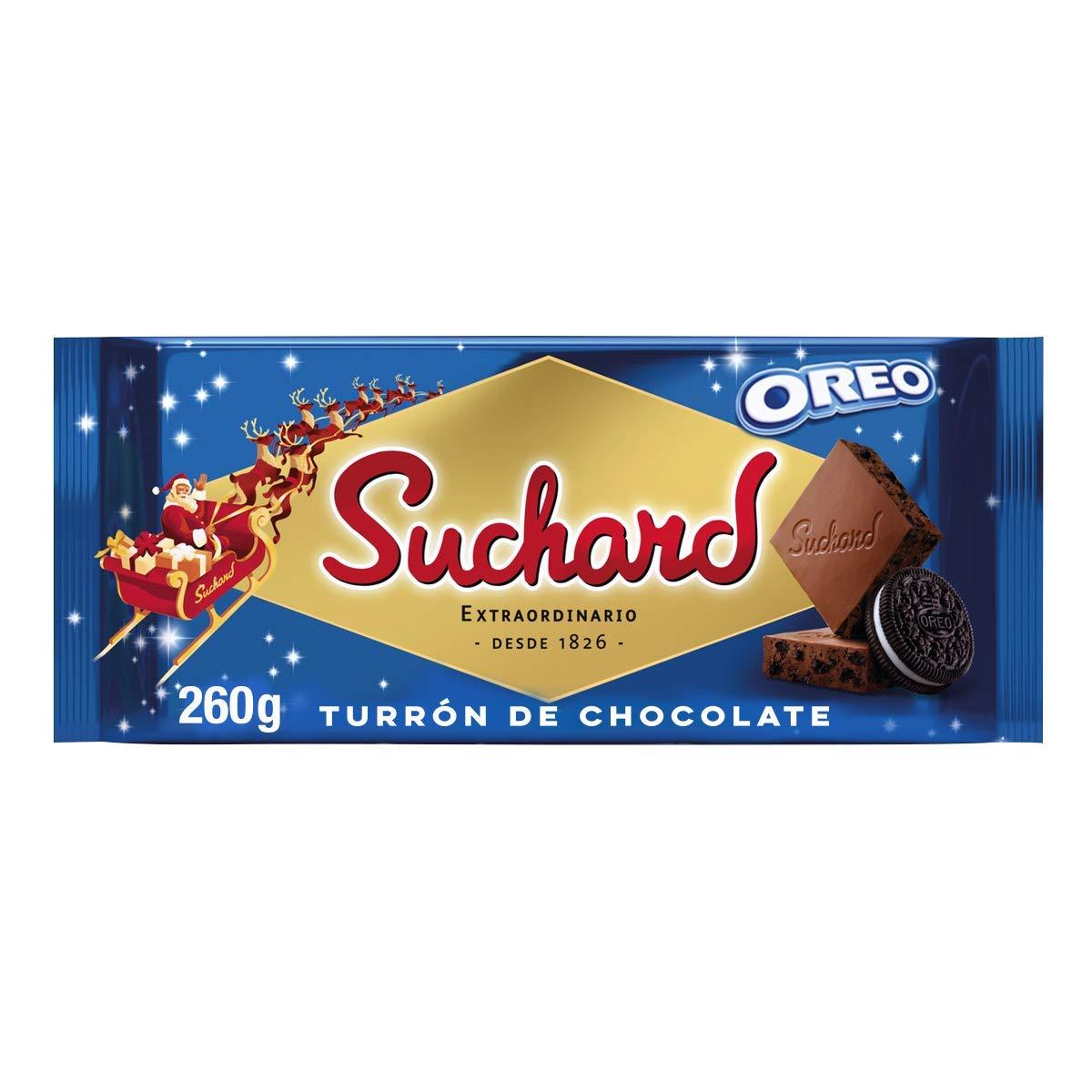 Turrón de chocolate Suchard con galleta Oreo - Oreo nougat