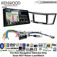Volunteer Audio Kenwood Excelon DNX994S Double Din Radio Install Kit with GPS Navigation Apple CarPlay Android Auto Fits 2013-2014 Honda Civic