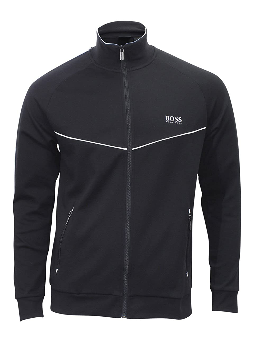 Hugo Boss Men's Tracksuit Jacket Jacket Jackets 70% Cotton 30% Polyester Brand New 50388878 001
