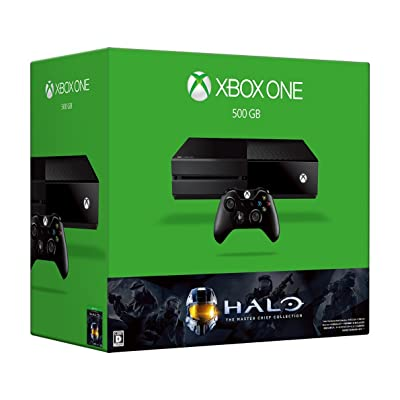 Microsoft Xbox One 500GB (Halo: The Master Chief Collection 同梱版)
