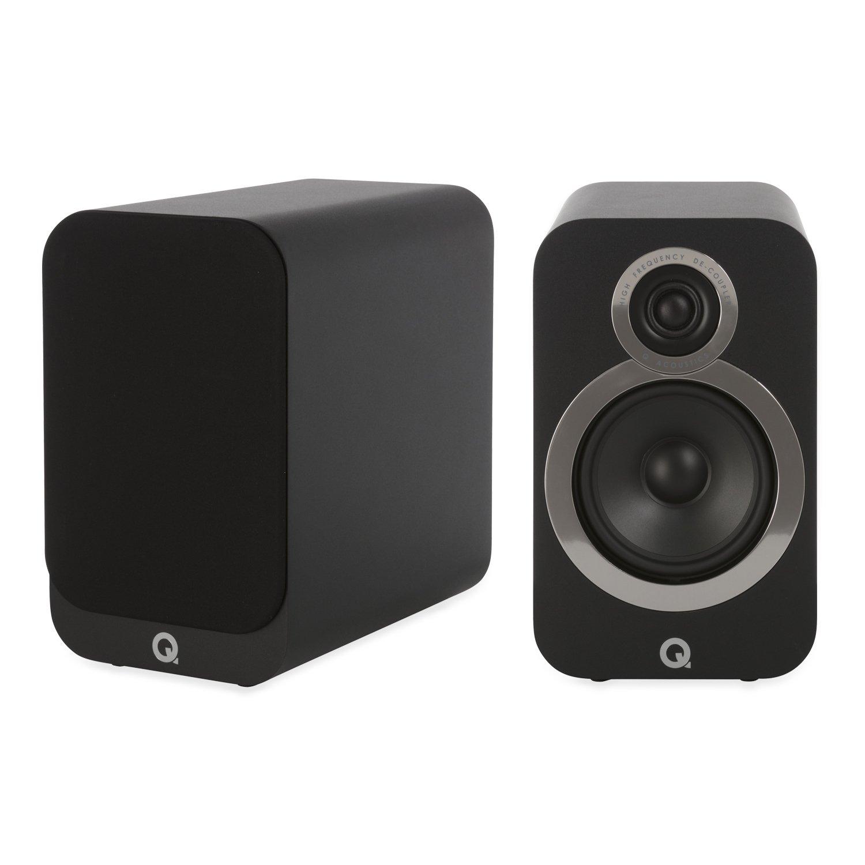Q Acoustics 3020i Bookshelf Speaker Pair (Carbon Black)