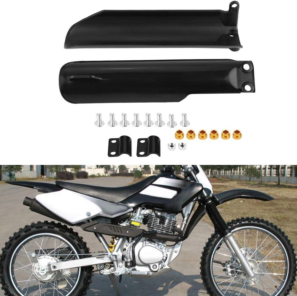 Motorrad Kotfl/ügel Gabel Schutzgitter Vordergabelschutz 1 Paar ABS Gabelschutzgitter f/ür 150ccm 160c 200ccm 250ccm Dirt Bike