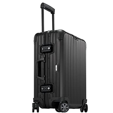 "2638107c2 Rimowa Topas Stealth Aluminium Carry on Luggage 21"" Inch Multiwheel  32L TSA Lock Spinner Suitcase"