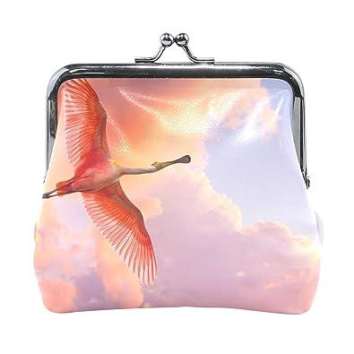 Amazon.com: AJINGA - Monedero de piel de calabaza con diseño ...