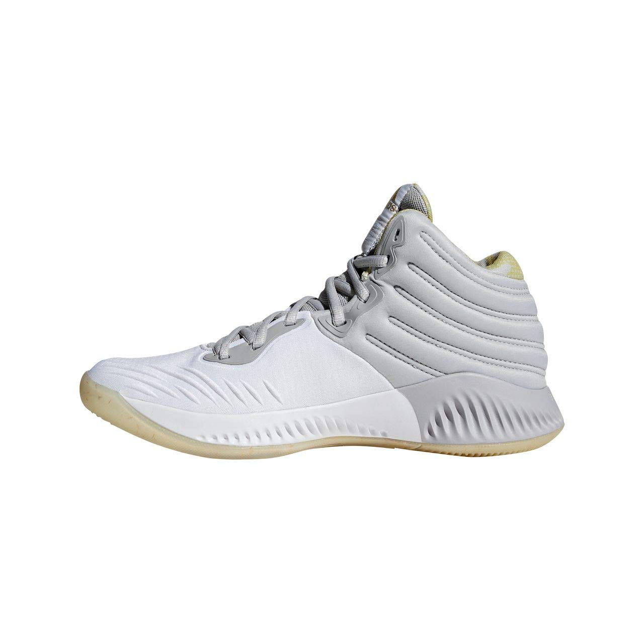 Adidas Mad Bounce Chaussures 2018, Chaussures Bounce de Basketball Homme 46 2/3 EU|Blanc (Ftwwht/Gold Mt/Gretwo Ftwwht/Gold Mt/Gretwo) 5eb675
