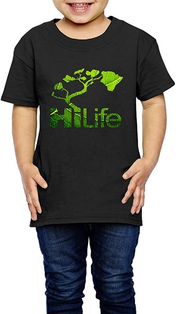 2-6 Years Old Kcloer24 Hi Life Kids Baby Boy Personality T-Shirt Tops Short Sleeve Tee