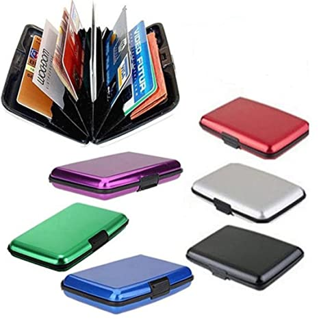 23961a59a318c5 Amazon.com: Pausseo Mens Waterproof Business ID Credit Card Wallet ...