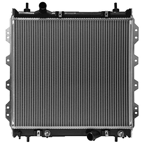 Prime Choice Auto Parts RK852 New Complete Aluminum Radiator (Best Price Auto Parts)