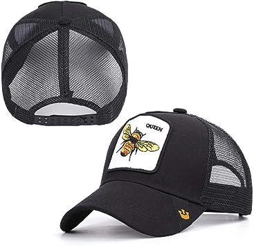 SADUZI Gorra De Beisbol Bordado De Animales Gorra De Béisbol Bee ...
