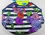 rambler lunch bag BYO Rambler Neoprene Lunch Bag Floral Blue Stripes Flowers