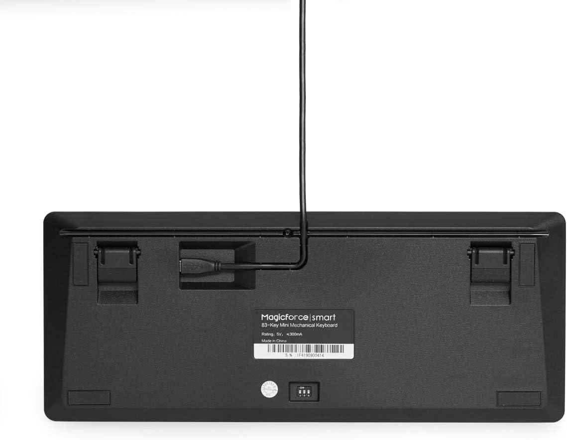 Teclado mecánico para juegos con cable OUTEMU Brown Switch 83-Keys Gaming Keyboard Magicforce-DE Layout