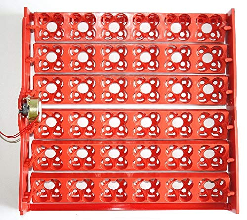 (Automatic 144 Eggs Quail Turner Tray for Incubator with 110 Volt PCB Motor New!)