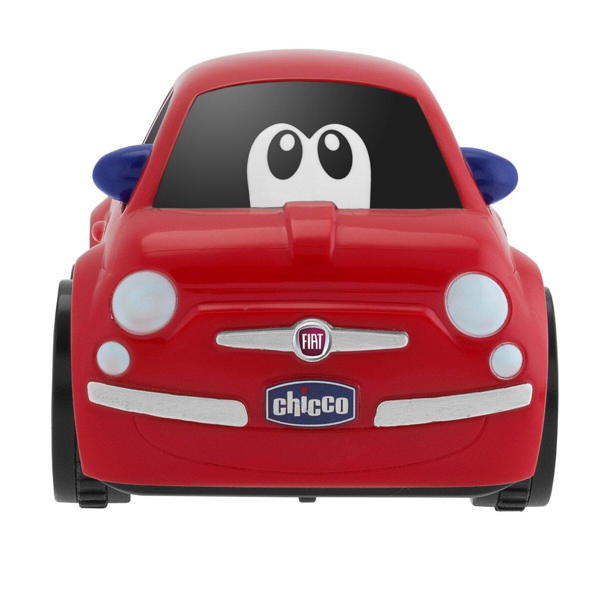 Chicco Fiat 500 Turbo Touch, alcanza hasta los 10 Metros, Color Rojo: Amazon.es: Juguetes y juegos