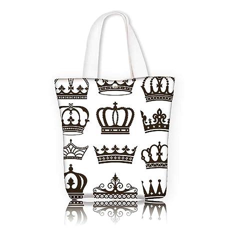 14e6c329ac4e Amazon.com: Canvas Tote Bag -W15 x H14 x D4.7 INCH/Shopping Travel ...