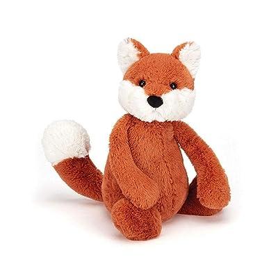 Jellycat Bashful Fox Cub Stuffed Animal, Medium, 12 inches: Toys & Games